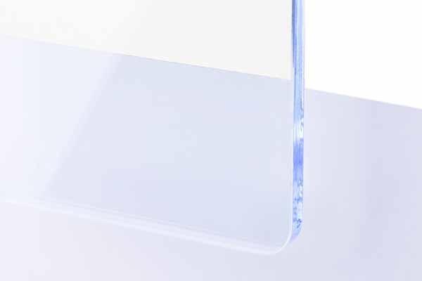 TroGlass Colour Gloss Ice Blue fluorescent 3mm
