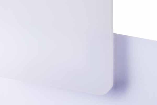 TroGlass LED White matt 3mm