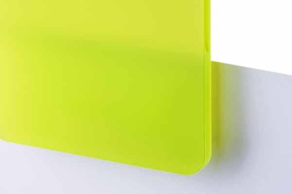 TroGlass Satins Lime Green transluscent 3mm