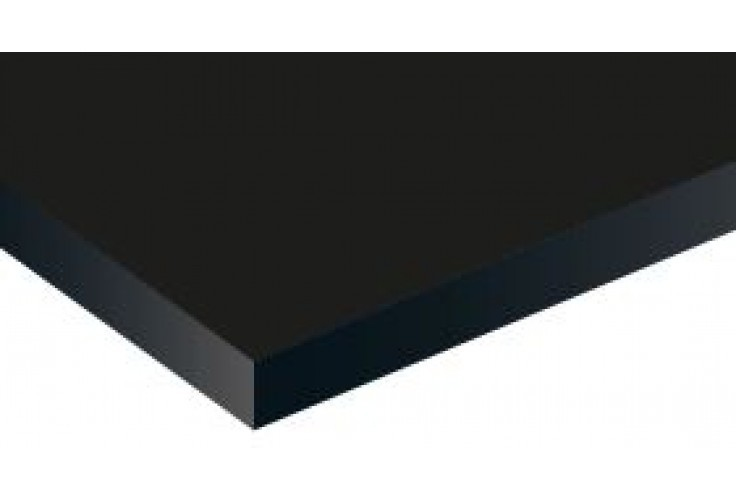 BLACK MATT TROPHY ALUM 1219X620X0.6MM