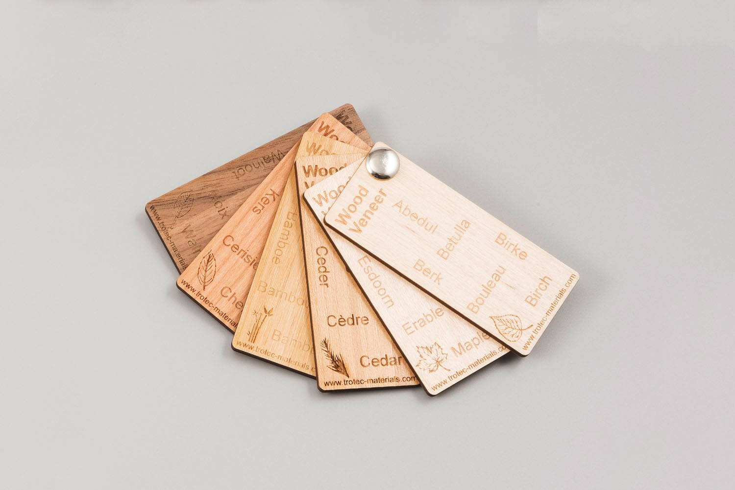 Color Fan MDF Veneer