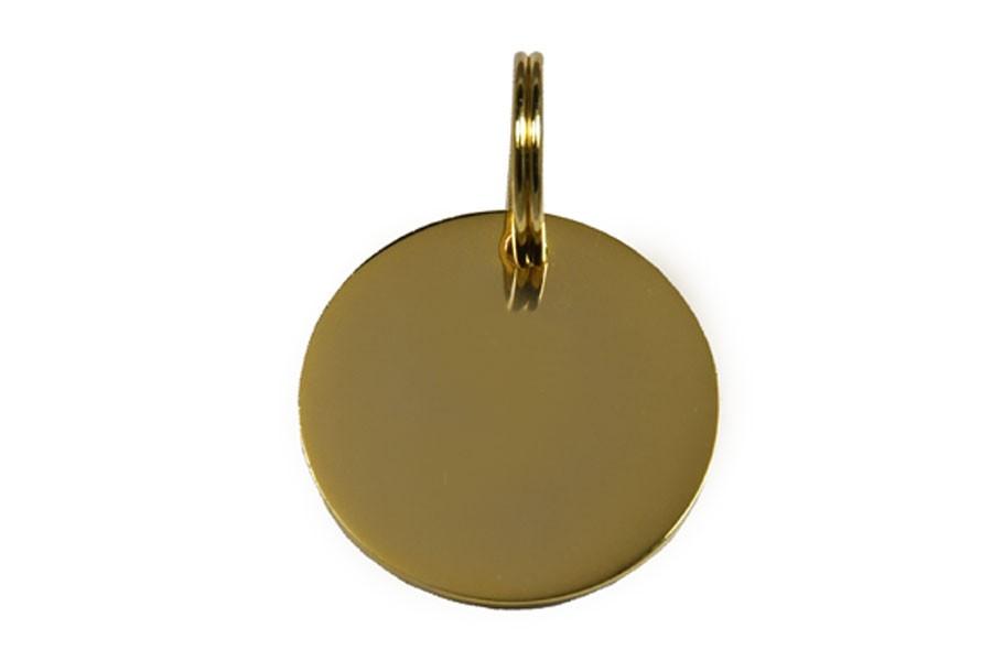 03D Médaille Laiton Dorée Ø 33 mm