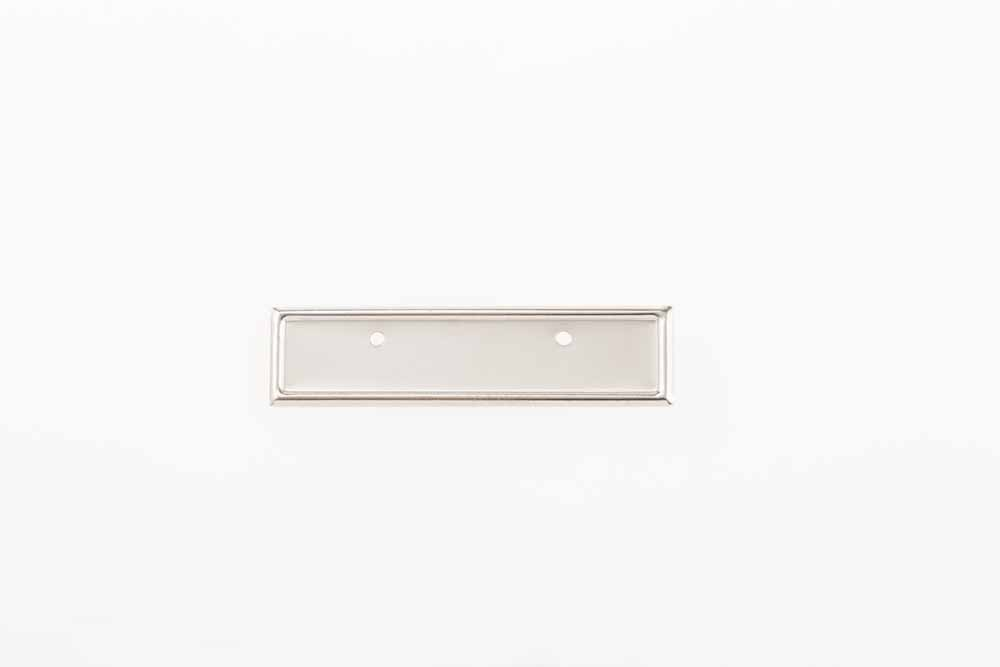 Porte Badge Argent 12,5mm x 63mm 20pie