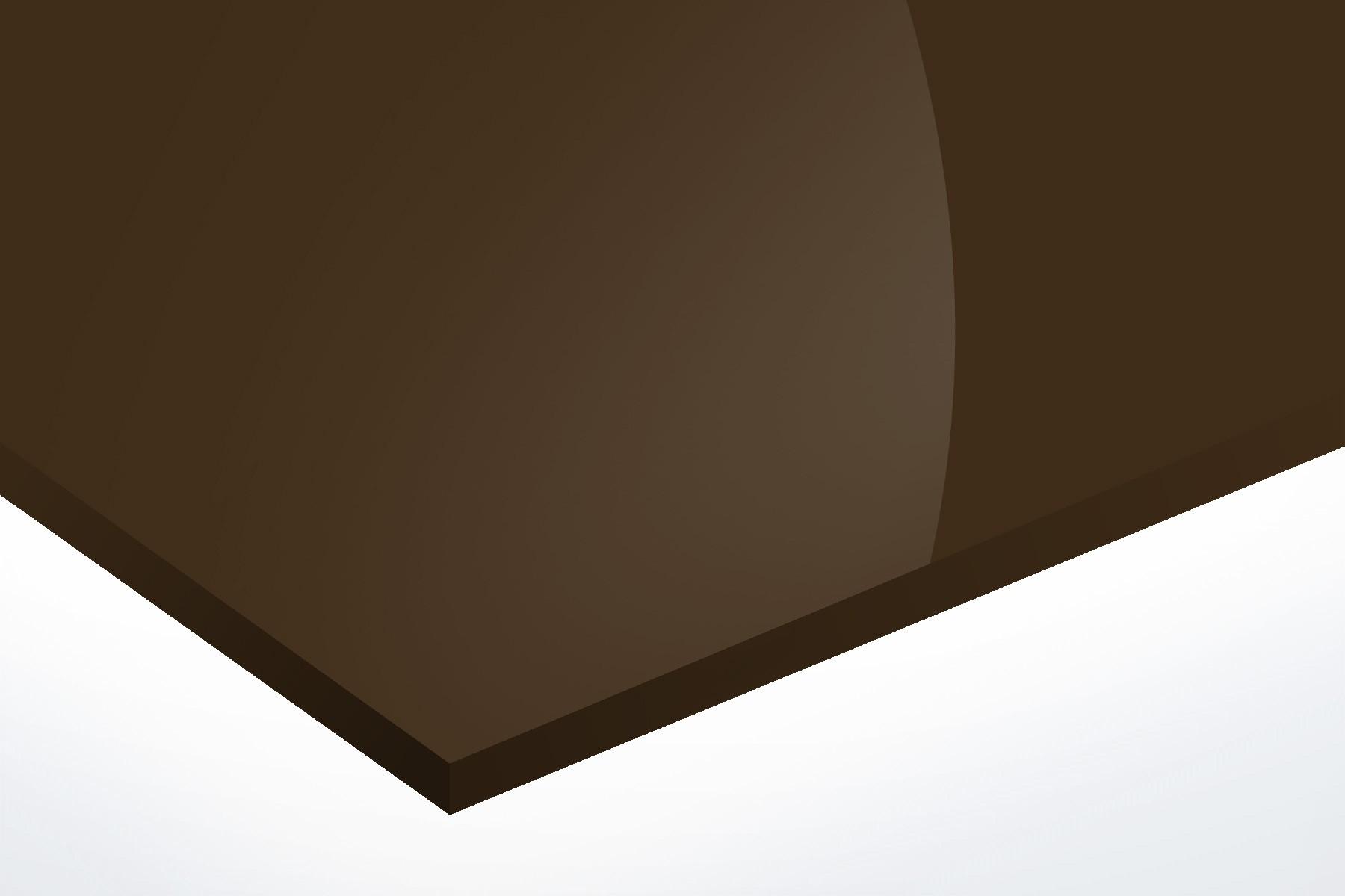 302/10/6397 Alu brillant Bronze foncé 1mm
