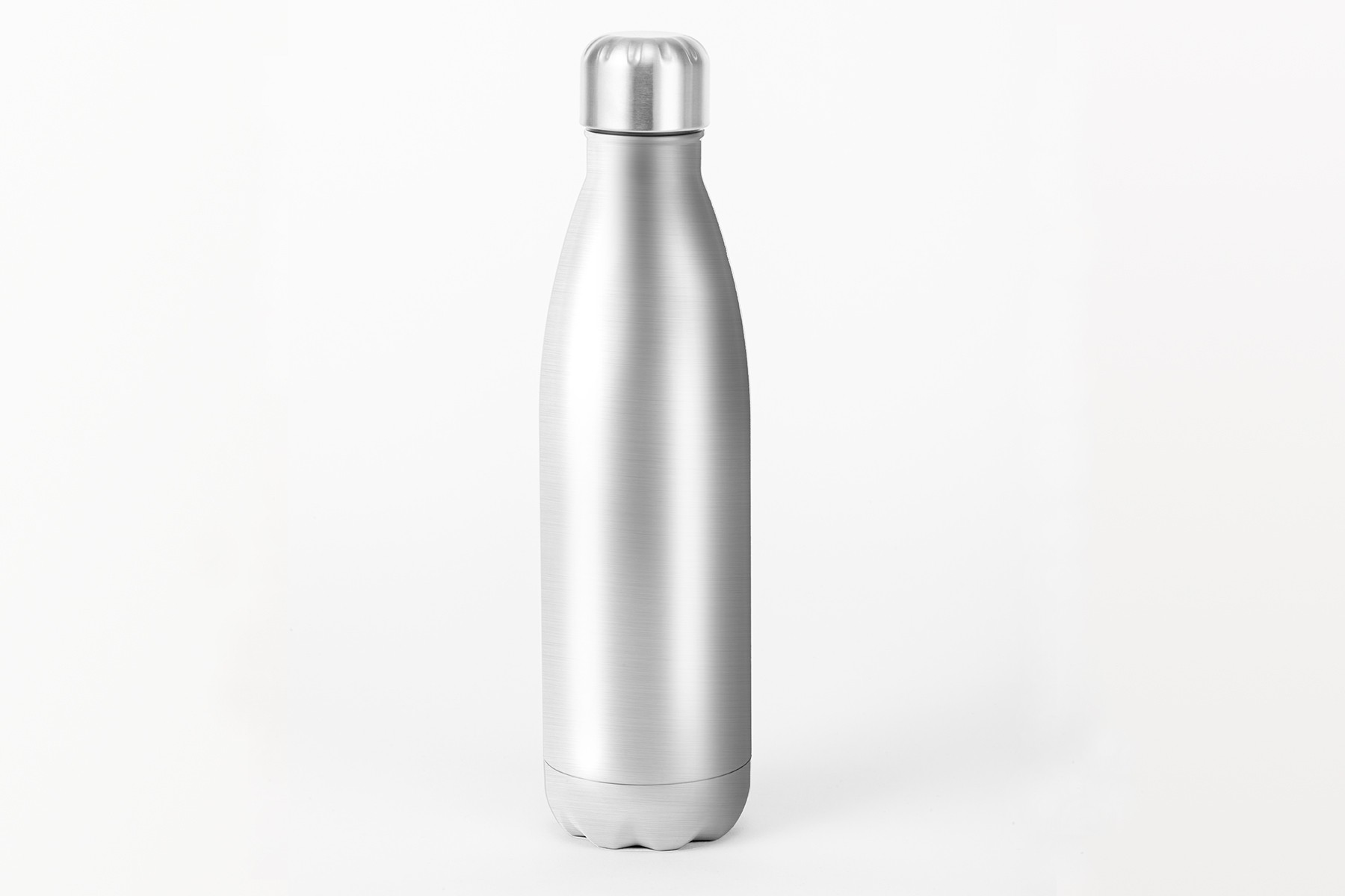 Bouteille isotherme argentée - 500 ml