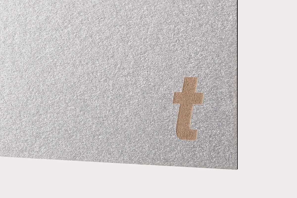 Papier Laser Métal galva. 300g/m2 10pc