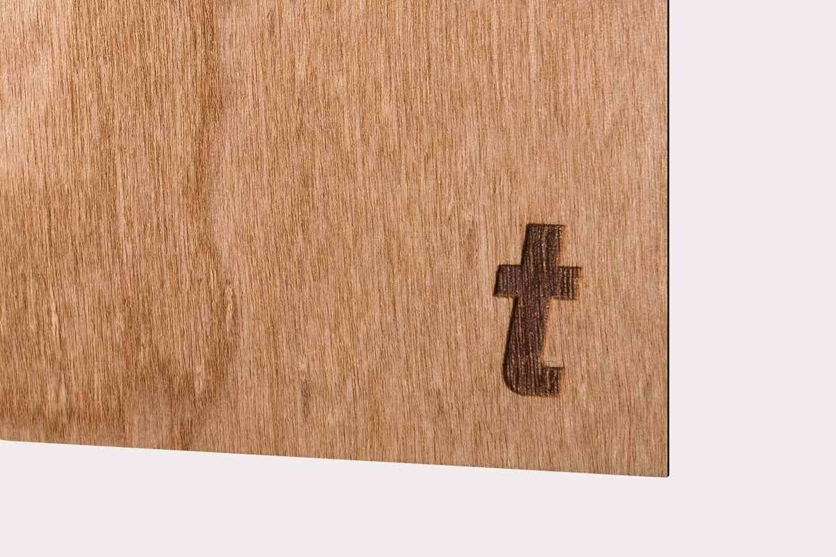 PapierLaser Cerisier vernis 305g/m2 10pc