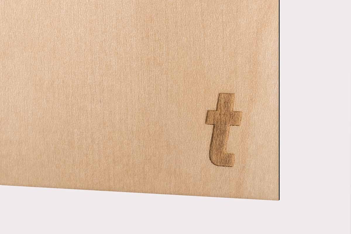 Papier Laser Erable vernis 305g/m2 10pc