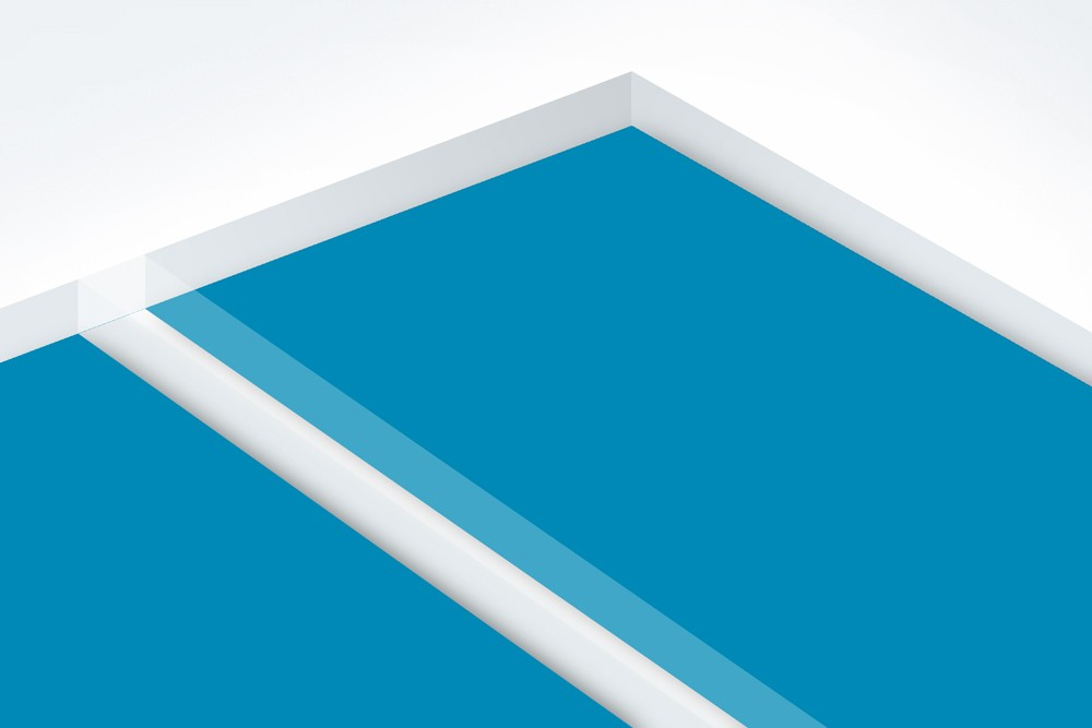 TroGlass Reverse 5mm Bleu Ciel