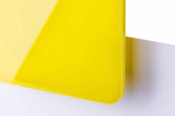 TroGlass Color Gloss Jaune transluc.3mm