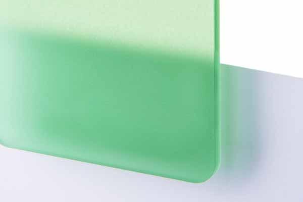 TroGlass Frosted Vert, 3mm