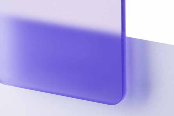 TroGlass Satins Violet translucide, 3mm