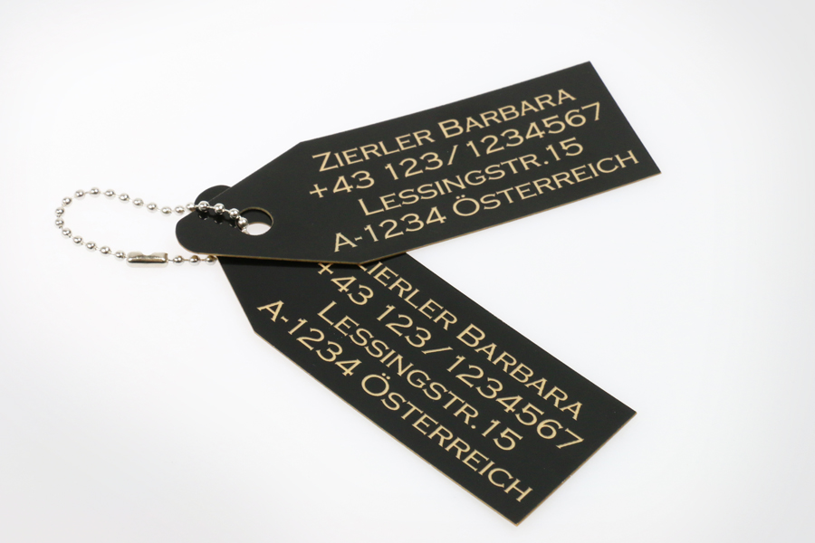 TroLase Thins luggage tags