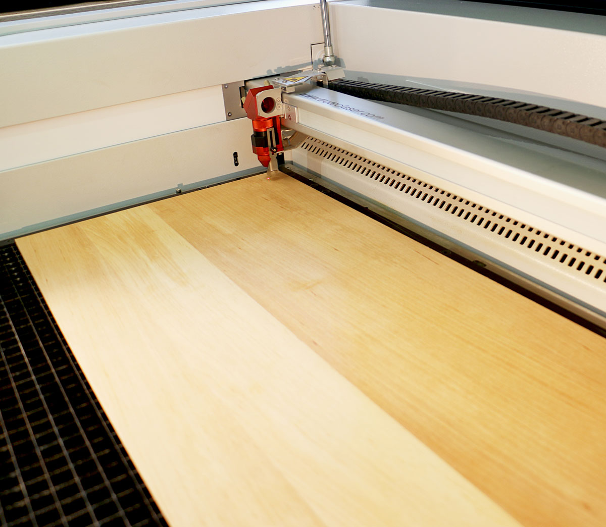 laser processing solid wood