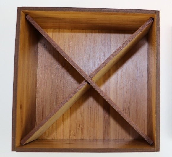 Trennkreuz aus Holz