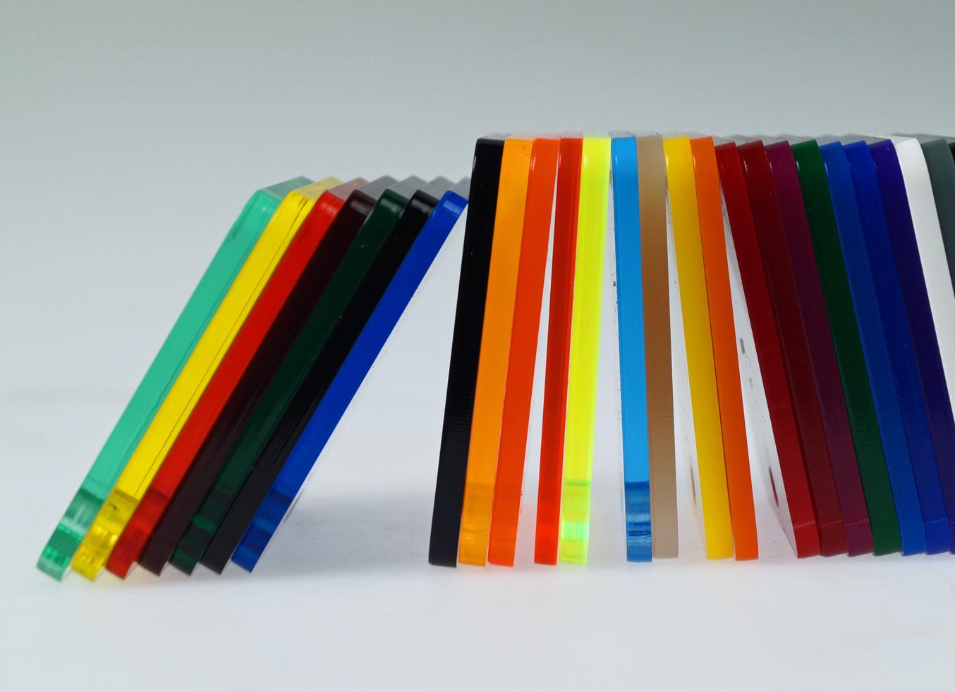 New color acrylic sheets range