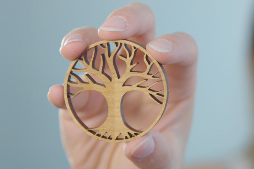 laserholz lebensbaum