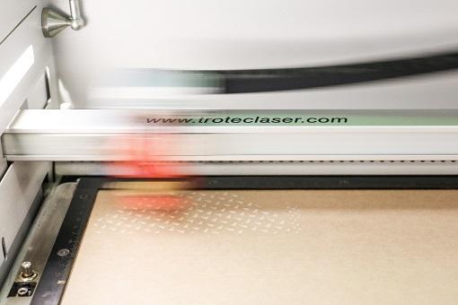 trocraft eco wood sheet laser engraving