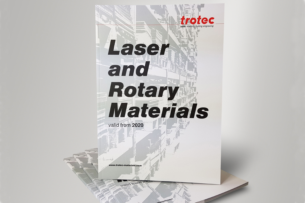 Trotec material catalogue 2020
