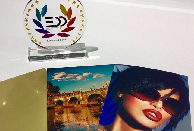 EDP award winning digital printing material