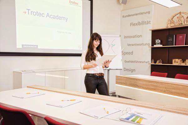 Lasertraining Trotec Academy