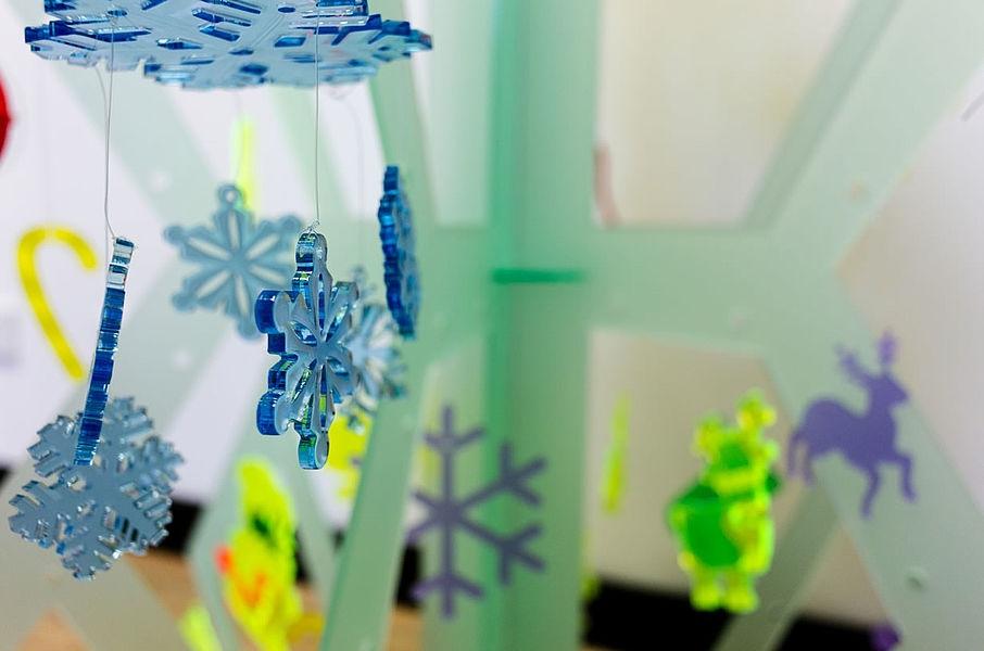 Weihnachtsdekoration TroGlass