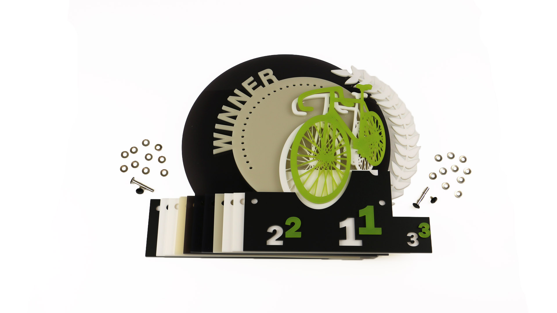 Anleitung für den Acrylglas Pokal