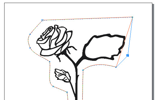 Grafik Rose konvertieren