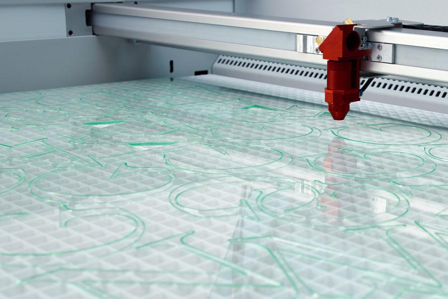 Lasergravur Acryl