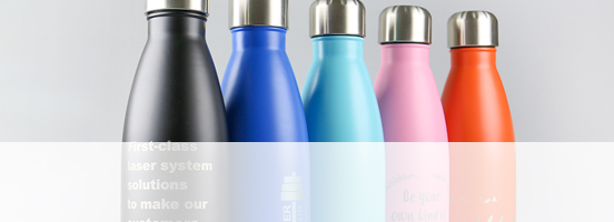 Trotec's Laserable Bottles