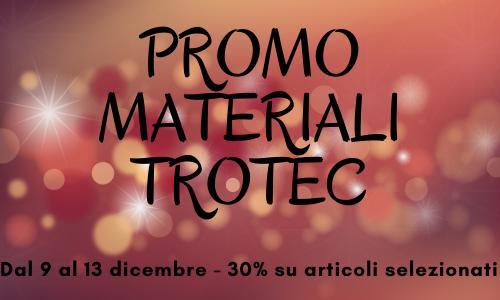 Promo natalizia 2019 di Trotec