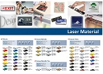 Laserable Sheet Materials Poster