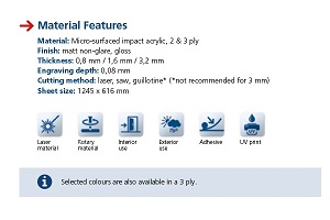 Material Features