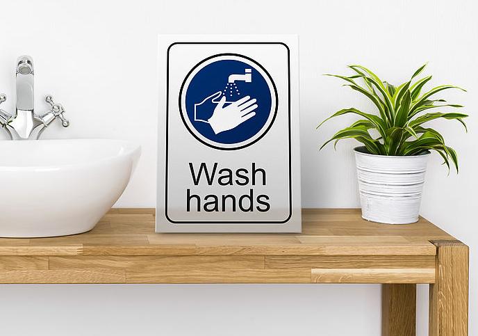 Engravable acrylic signage