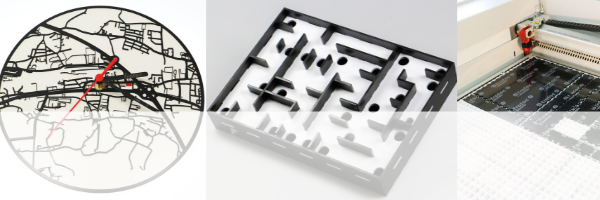 50% off black applique laser cutting materials