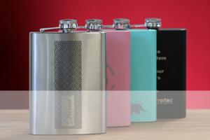 laserable hip flasks