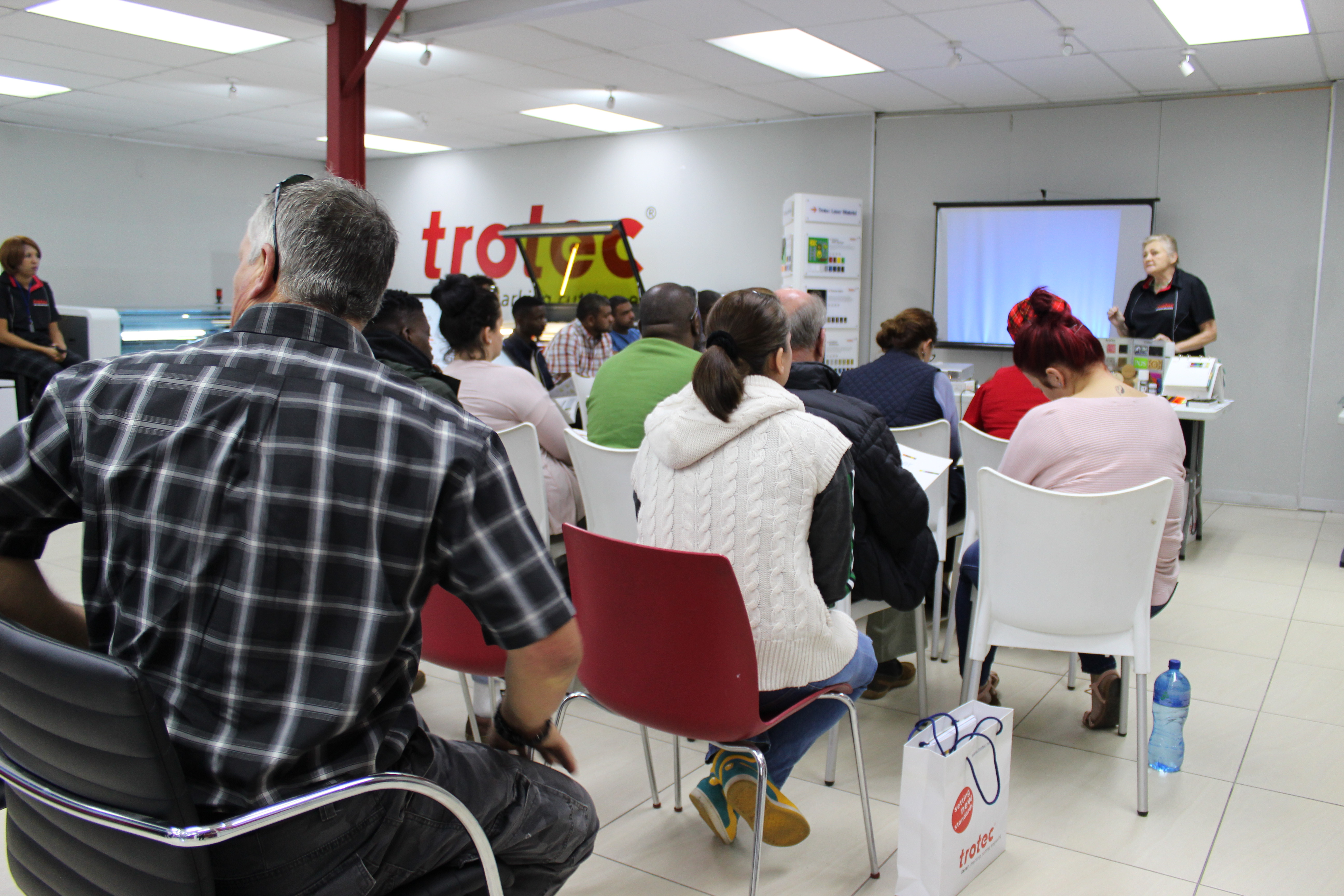 Trotec Laser South Africa - Customer Training Day